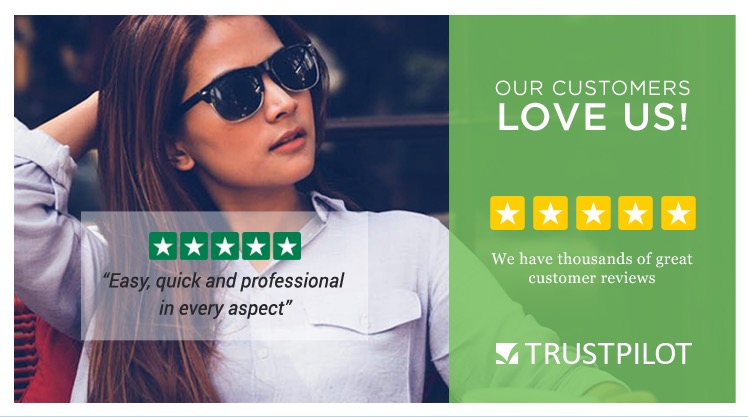 Trust Pilot | Our Customers Love Us! We have thousands of great reviews